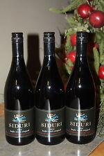 2012 SIDURI KEEFER RANCH VINEYARD SONOMA PINOT NOIR RED WINE 750ML 3-BTL LOT