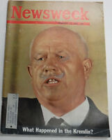 Newsweek Magazine The Cuban Crisis Fidel Castro November 1962 100316R2
