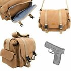 Durable & Water Resistant Canvas Springfield XDS Handgun Carry & Storage Bag