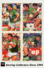 Canberra Raiders 1995 Season NRL & Rugby League Trading Cards
