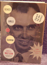 Watson, James D.  Genes, Girls and Gamow.  Signed, First Edition.