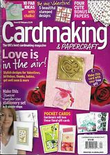 Cardmaking and Papercraft magazine Valentines Birthday Thanks Babies Stationery