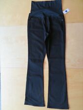 New Gap 1969 Maternity Solid Black Jeans Baby Boot Denim Bootcut Pants Size 6