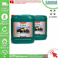 Canna Coco A+B 5L - Veg Flower Grow Bloom Plant Food Base Nutrients A&B 5 Litre