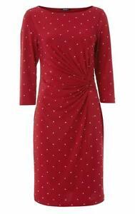 Roman Originals Red Embellished Dress - Size 12 (BNWT)