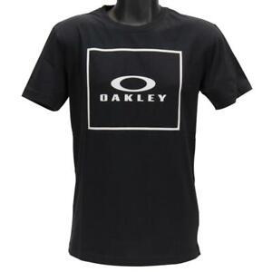 Oakley Jack Tee Mens Size XL Extra Large Jet Black Cotton Regular Logo T-Shirt
