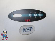 Overlay Master Spa Topside 3 Button Hot Tub #8 11274 Mini Oval Down East MAS260
