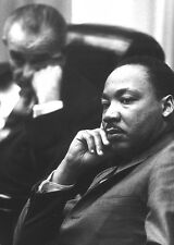 1966 Photo Dr. Martin Luther King, Jr. at the White House with Lyndon Johnson