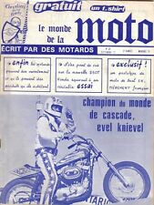 LE MONDE DE LA MOTO n° 39 . Septembre 1977 . Honde 250 T .