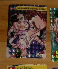 STREET FIGHTER ZERO II CARD PRISM HOLO CARD 044 DAN RARE MADE IN JAPAN 1995 **