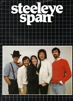 STEELEYE SPAN 1984 AUSTRALIAN TOUR CONCERT PROGRAM BOOK BOOKLET-NEAR MINT TO MNT