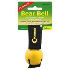 Coghlan's Yellow Bear Bell With Silencer Emergency Camping Animal Survival Gear
