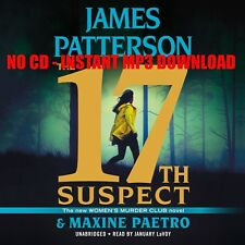 The 17th Suspect James Patterson {AUDIOBOOK}