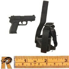 SWAT Sharpshooter - Pistol w/ Leg Holster - 1/6 Scale - 21 Toys Action Figures