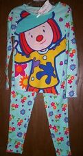 JoJo's Circus Pajamas Girl's 6 NeW L/S Shirt Pants Pjs Set Disney Store VHTF NWT