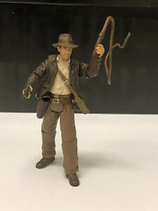 🔥NEW Hasbro Indiana Jones Action Figure 1/18 Scale Whip Gun INDY Raiders 2007🔥