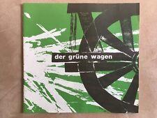 "Program booklet ""Caroline"" The Green Car 1966"