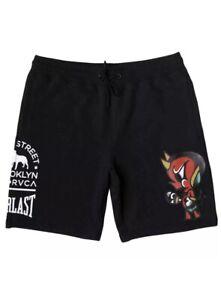 Mens Rvca Smith Street Fleece Shorts Size Small S