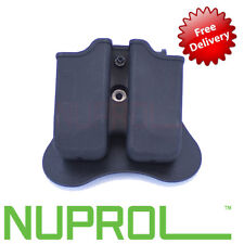 NEW NUPROL WE Beretta M92 Airsoft 9mm Double Magazine Pouch Mag holster