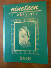 Year Book ANNUAL 1986  SAES SHAPE American Elementary School BELGIUM SY