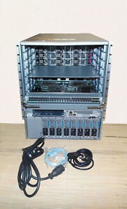 Cisco N9K-C9508-B1 Nexus 9508 Chassis N9K-SUP-A 8 PS 2 SC 3 FM 3 FT N9K-X9564TX