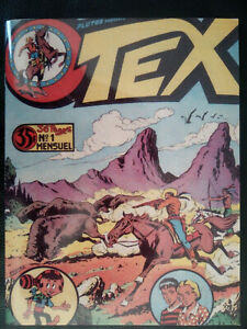 PLUTOS présente TEX n° 1 - Fac similé du numéro mythique de TEX WILLER