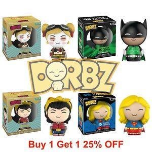 "Funko Dorbz Marvel Or DC Comics 3"" Vinyl Action Figures Collect Them All!"