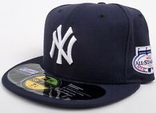 NEW ERA NY YANKEES BASEBALL HAT / CAP 59FIFTY 2008 ALL-STAR PATCH SIZE 7 1/2 NEW