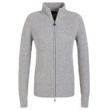 NWT Golfino Ladies Full Zip Grey Cardigan w Rhinestone 1315124 820 2 6 8 10 12