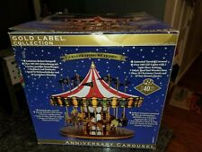 MR. CHRISTMAS 75TH ANNIVERSARY GOLD LABEL COLLECTION CAROUSEL 2013