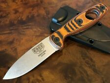ESEE Knives Xancudo S35VN Blade Black and Orange G10 3D Scales Hole XAN1-006