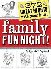 Family Fun Night! by Cynthia L. Copeland (2009, Paperback New)