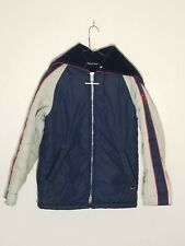 Vintage Mighty Mac Jacket Coat Split Hood Made USA