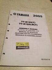 Yamaha TT-R125LW ( T ) TT-R125 2005 TTR 125 setup manuel assemblage préparation