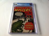 JOURNEY INTO MYSTERY 82 CGC 4.0 SCORPION STRIKES STEVE DITKO KIRBY MARVEL COMICS