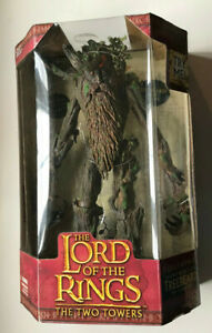 """VINTAGE LORD OF THE RINGS THE TWO TOWERS 17"""" ELECTRONIC TREEBEARD TOYBIZ NEW"""