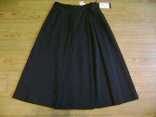"""Max Mara skirt.RRP £185.Size 14.Black.Virgin wool.New+tags.W 32"""""""