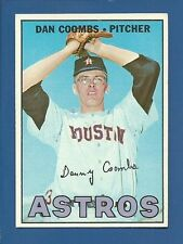 1967 Topps Semi-High # 464 Dan Coombs  Houston Astros EX/MT additional ship free