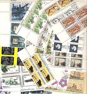 TWENTY FIVE (25) Different Mint US 8 cent Stamp PLATE BLOCK LOT MNH
