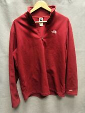 The North Face Fleece Top Red Size Medium