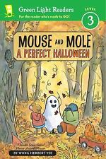 Mouse and Mole, A Perfect Halloween (Green Light Readers Level 3)-ExLibrary
