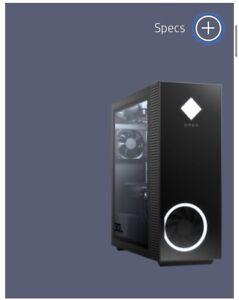 OMEN 30L HP Desktop GT13-0380t SSD 16GB RAM Intel® Core™ i7-10700K Z490 *NO GPU*