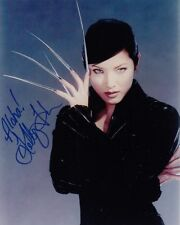 Kelly Hu signed autógrafo 20x25cm X-Men in person Autograph coa