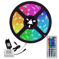 RGB LED Streifen Lichterkette TV Beleuchtung Stripe Lichtleiste 1m-30m