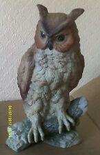 Large Porcelain Long Eared Owl