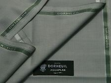 "Dormeuil ""aquaplan mezcla Luz grey/white Sombra Lana Exclusivo Tela 3.5 m"