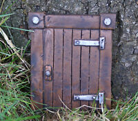 Fairy Door or Hobbit Door handmade in UK home or garden ornament frost proof