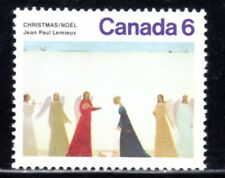 1974 Canada SC# 650ii - Christmas - red tear on blue skirt Lot# 738a - M-NH