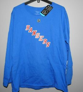 NHL Reebok Cotton Long Sleeve #36 New York Rangers Shirt New Womens Sizes