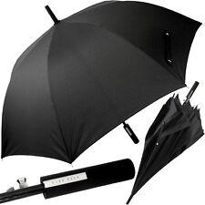 HUGO BOSS,auto.,Partnerschirm,groß,Griff gerade,XXL Regenschirm,Golf-Schirm,NEU